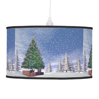 Luminária De Teto Árvore de Natal - 3D rendem