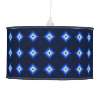 Luminária De Teto Azul e diamante de Tan