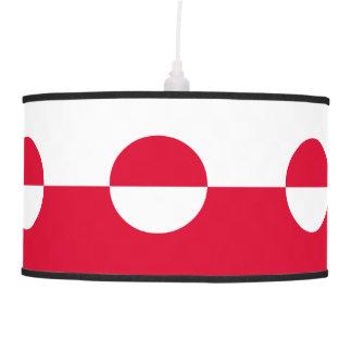 Luminária De Teto Bandeira de Greenland