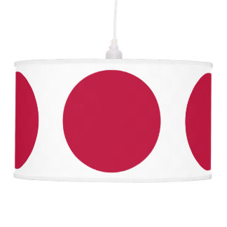 Luminária De Teto Bandeira de Japão ou de Hinomaru