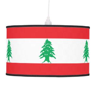 Luminária De Teto Bandeira de Líbano
