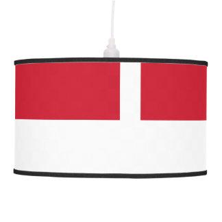 Luminária De Teto Bandeira de Monaco