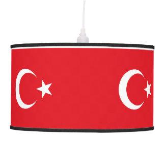 Luminária De Teto Bandeira de Turquia