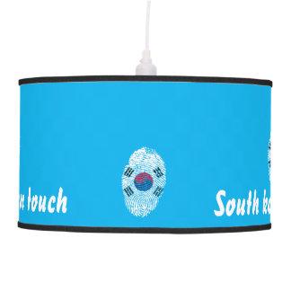 Luminária De Teto Bandeira para o sul coreana da impressão digital