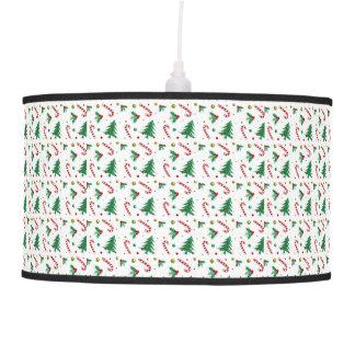 Luminária De Teto Bastões de doces, visco, e árvores de Natal