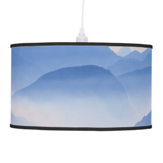 Luminária De Teto Cena de relaxamento meditativo da paisagem das