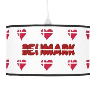 Luminária De Teto Coração dinamarquês