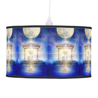 Luminária De Teto Coração do templo da lua V058