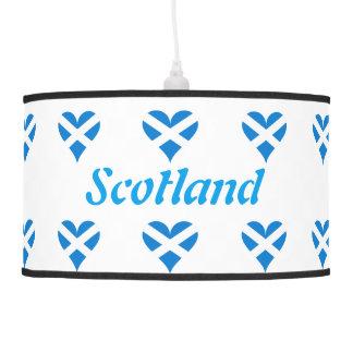 Luminária De Teto Coração escocês
