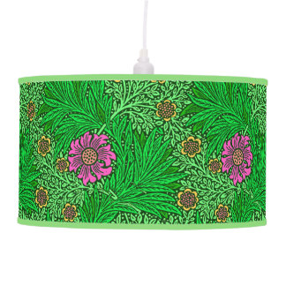 Luminária De Teto Cravo-de-defunto de William Morris, verde