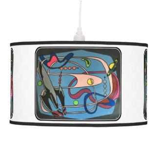 """Luminária De Teto Do """"o espaço da modificação MidCentury é pintura"""