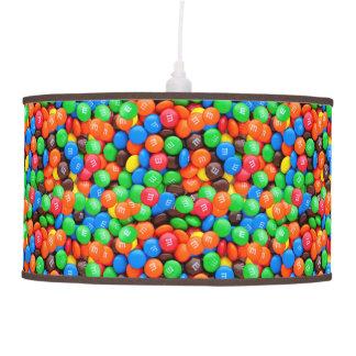 Luminária De Teto Doces dos M&Ms dos doces de chocolate