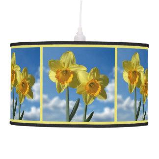 Luminária De Teto Dois Daffodils amarelos 2,2