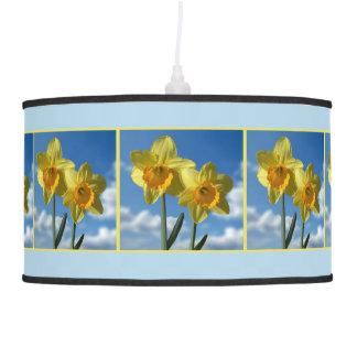 Luminária De Teto Dois Daffodils amarelos 2.2.3