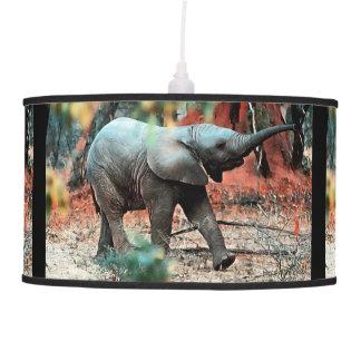 Luminária De Teto Elefante do bebê
