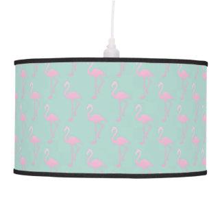 Luminária De Teto Flamingo cor-de-rosa no teste padrão sem emenda da