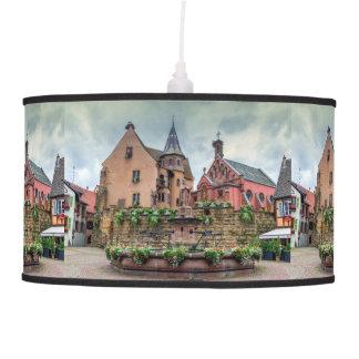 Luminária De Teto Fonte de Santo-Leon em Eguisheim, Alsácia, France
