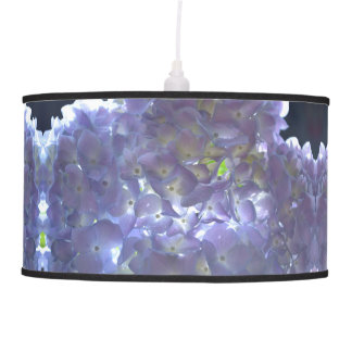 Luminária De Teto Hydrangeas da lavanda