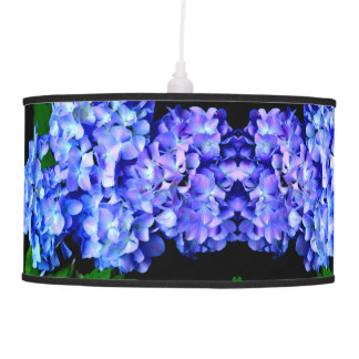 Luminária De Teto Hydrangeas de Tanzanite