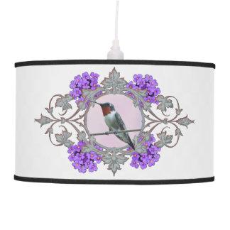 Luminária De Teto Imagem Throated do colibri do rubi