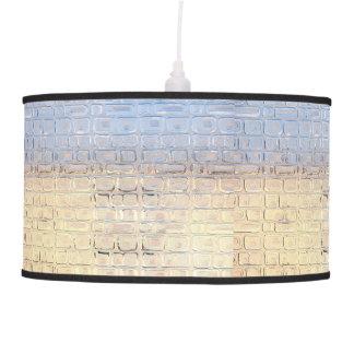 Luminária De Teto Janela de vidro