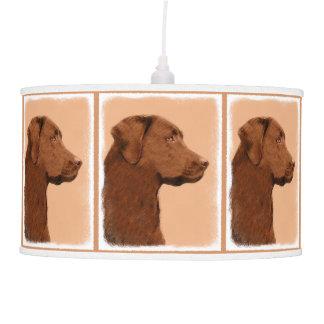 Luminária De Teto Labrador retriever (chocolate)