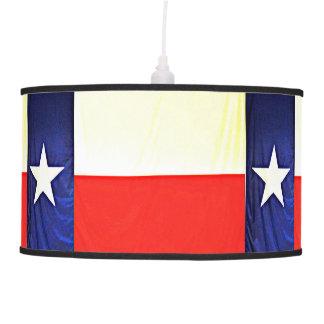 Luminária De Teto Lâmpada de pendente da bandeira de Texas