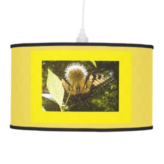 Luminária De Teto Lâmpada de suspensão do monarca amarelo