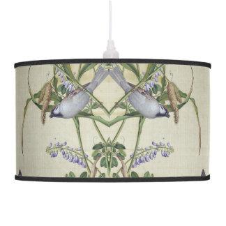Luminária De Teto Lâmpada de suspensão do Wildflower asiático dos