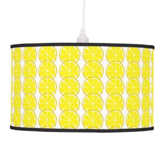 Luminária De Teto Lâmpadas e máscaras do limão do citrino do verão