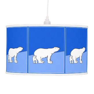 Luminária De Teto Mamã e Cub do urso polar