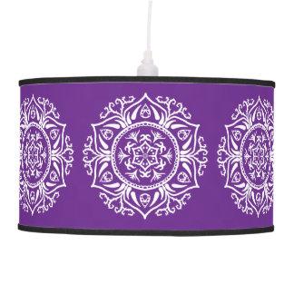 Luminária De Teto Mandala da beringela