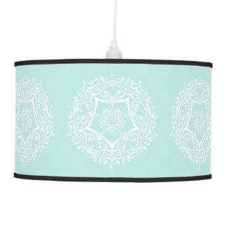 Luminária De Teto Mandala do vidro do mar