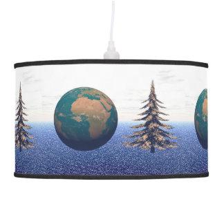 Luminária De Teto Natal e neve do mundo