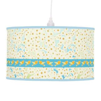 Luminária De Teto Pássaros e margaridas