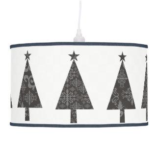 Luminária De Teto Simples moderno à moda do laço do preto da árvore