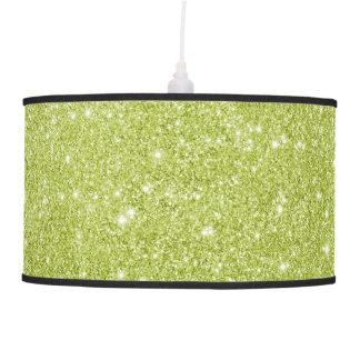 Luminária De Teto Sparkles do brilho do verde limão
