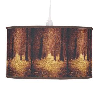 Luminária De Teto Trajeto de floresta…