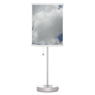 Luminária Design macio branco do impressão da foto das