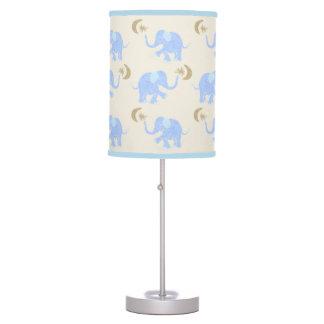 Luminária Elefantes dos azuis bebés com estrelas & berçário