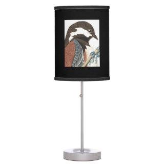Luminária Impressão de Audubon do pássaro de estado da
