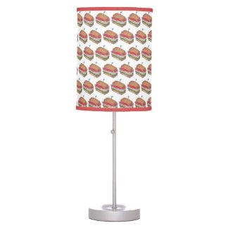 Luminária Impressão de Foodie do comensal do restaurante do