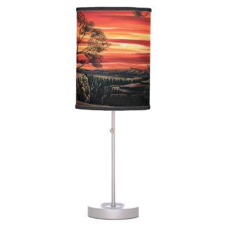 Luminária Lampshade do por do sol de Canyonlands
