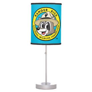 Luminária Logotipo do rick da guarda florestal do rick | da