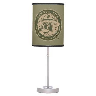 Luminária Logotipo Khaki do rick da guarda florestal do rick