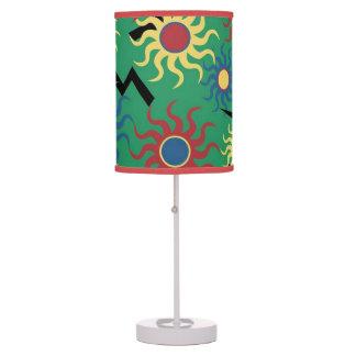 Luminária Luz da mesa dos parafusos da luz do sol e de