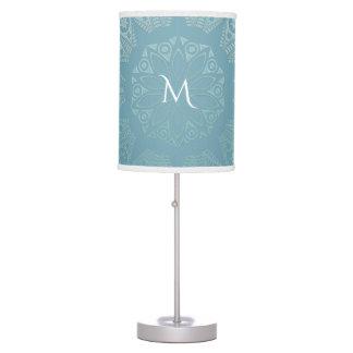 Luminária Mandala do laço do Aqua