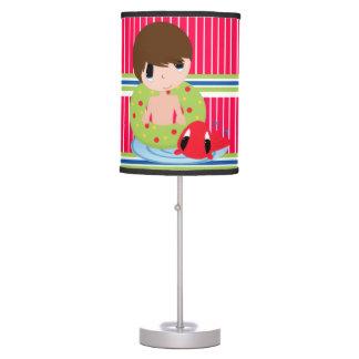 Luminária Meninos - candeeiro de mesa