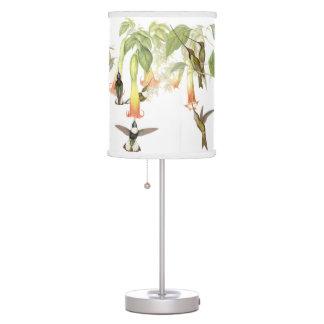 Luminária Os animais selvagens dos pássaros do colibri