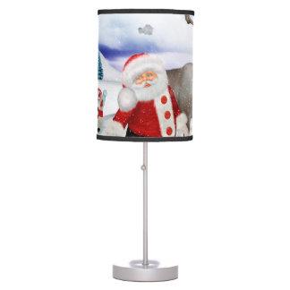 Luminária Papai Noel engraçado